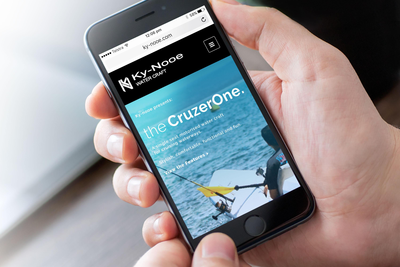 Kynooe – Mobile Website