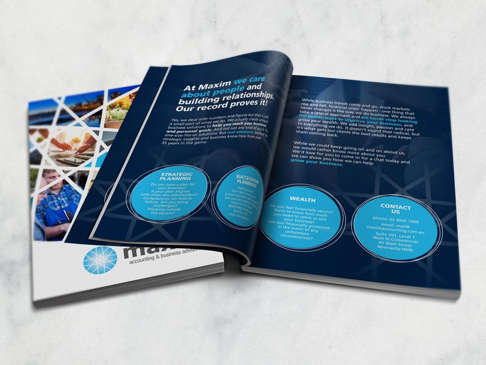 Maxim-Brochure