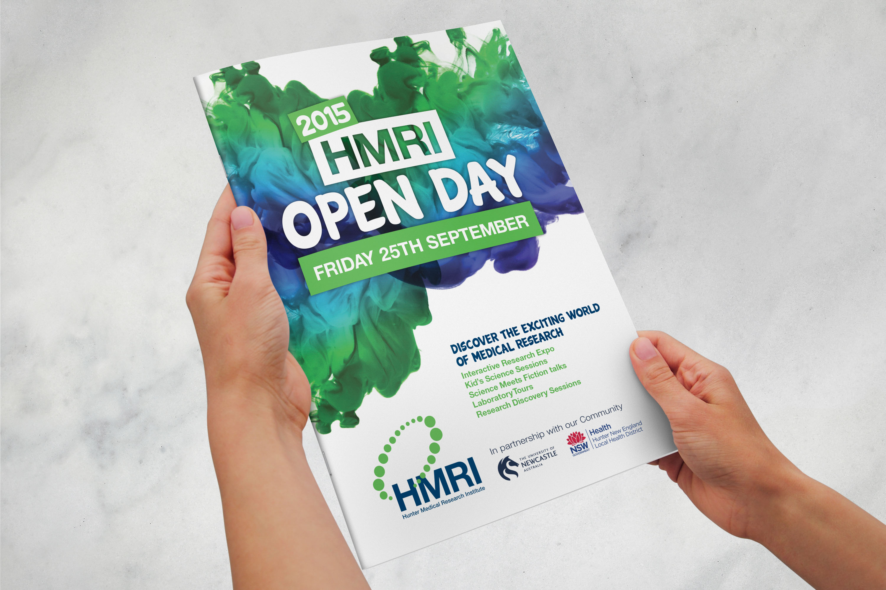 Open Day Booklet Cover