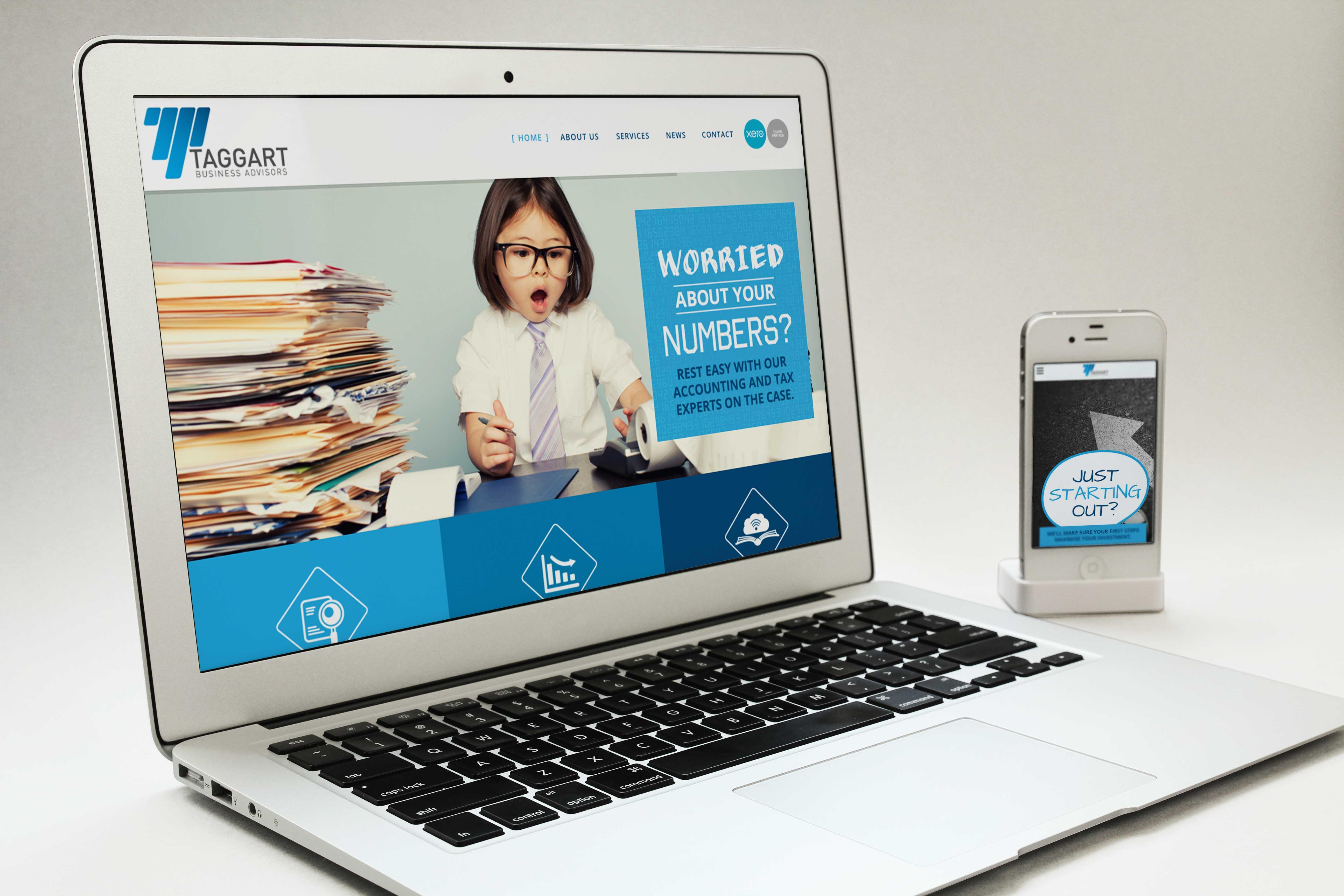 Website Macbook & Iphone